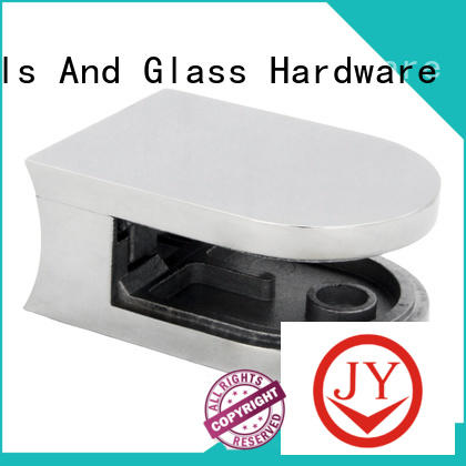 JY high quality wall mount glass clamp Supply for Wet Rooms