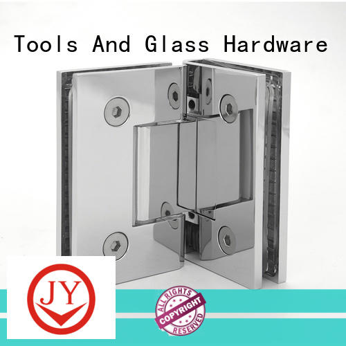 JY High-quality materials glass door pivot hinge factory for bathroom