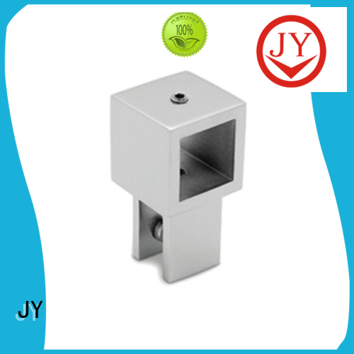 custom made aluminum tube connectors supplier for Glass products
