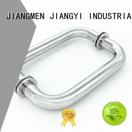 JY refined quality handles for glass doors manufacturer for store front