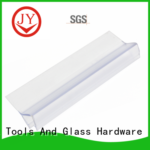 JY PVC material shower door sweeps the company for glass products