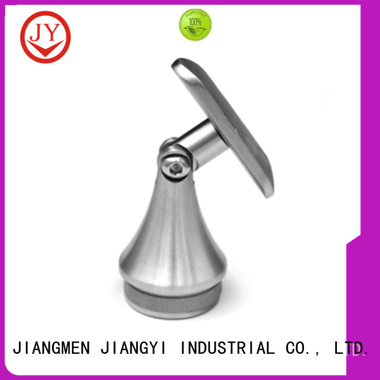 JY useful stainless handrail fittings the company for Glass product