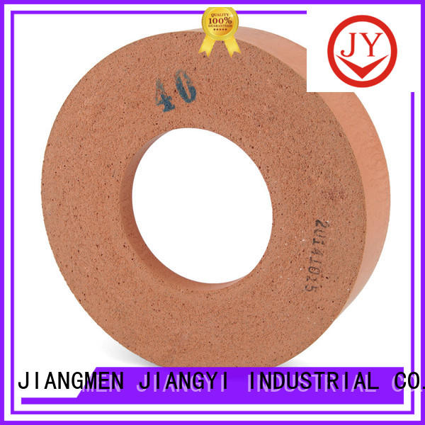 JY igh polishing rate rubber polishing wheels process glass furniture for grinding