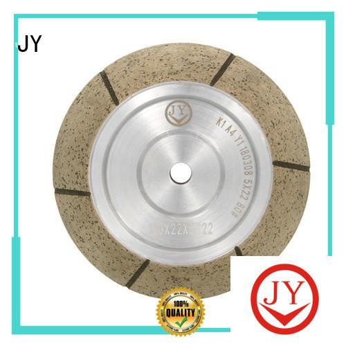 JY custom made centerless grinding wheel Exporter for Glass product