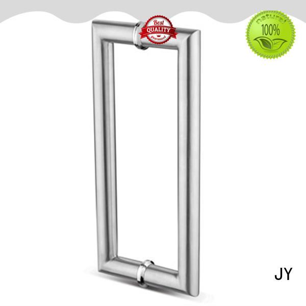 JY bathroom glass door handle