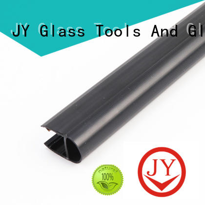 JY PVC material glass shower door seal strip the company