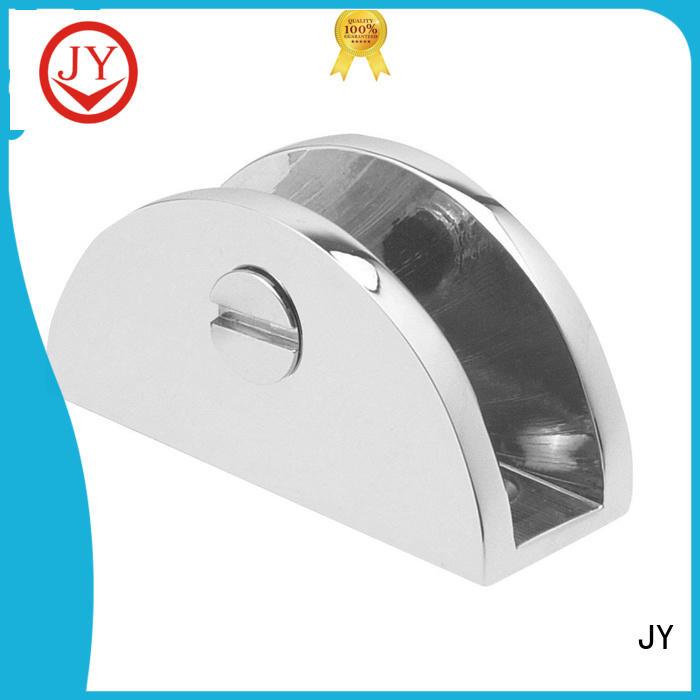 JY glass clip holder supplier for Hotel Shower Room