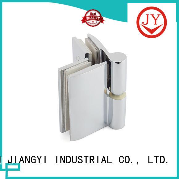 JY solid construction bathroom door hinges Hot Sale for Glass Door