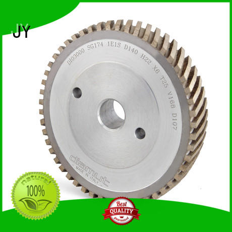 Full segmented diamond V groove wheel AS-V-DIAMUT