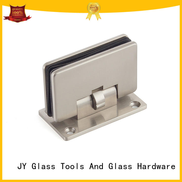 JY High-quality materials adjustable door hinges China for Hotel Shower Room