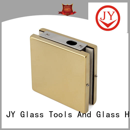 JY reliable bathroom glass door fittings supplier for Glass product