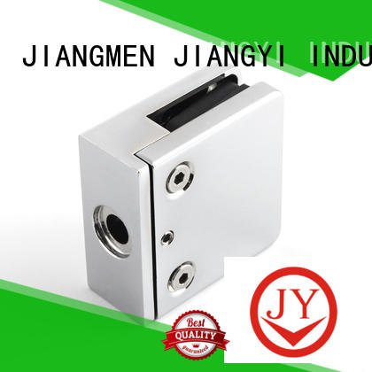 JY safe glass balustrade clamps China for Shower Room