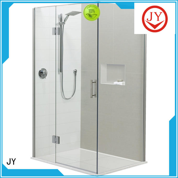 JY good quality bathroom accessories set supplier for glass