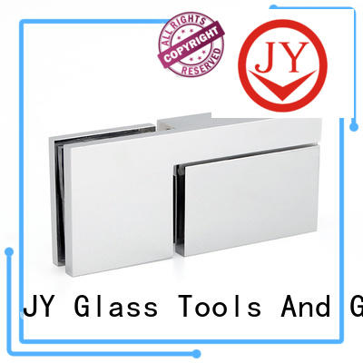 JY high quality shower door pivot hinge Hot Sale for Hotel Shower Room