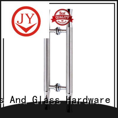 JY convenient shower towel bar factory for Glass product