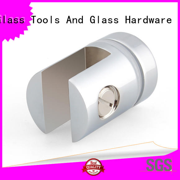 glass stainless steel glass holder bracket bathroom JY