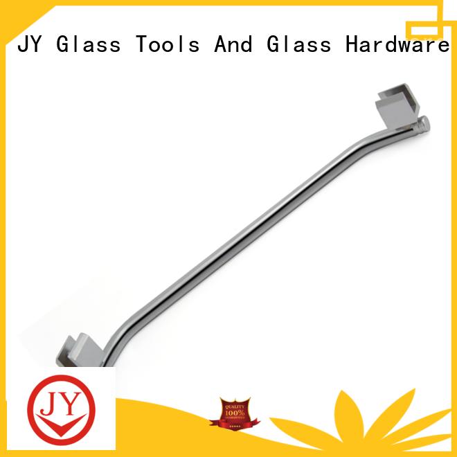 Best round corner shower curtain rod Exporter for glass