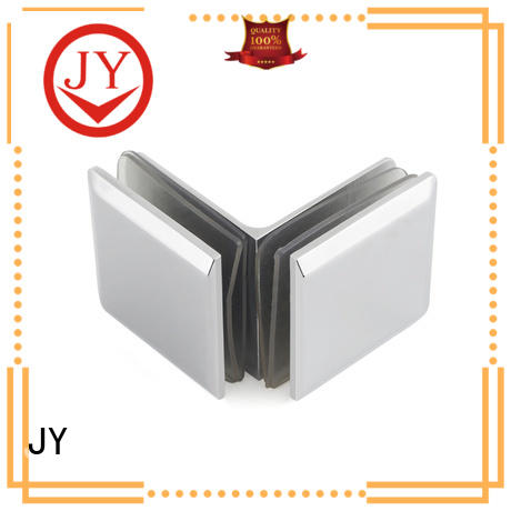 high quality corner glass clamp factory for Bath Screens