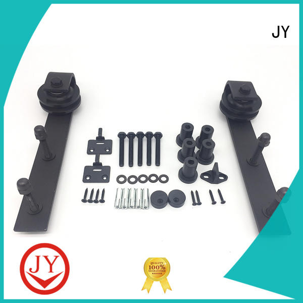 JY stable sliding barn door and hardware Exporter for Glass products