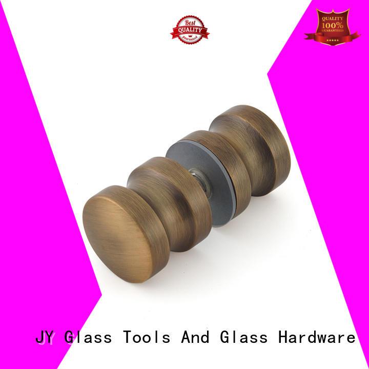 Shower door knobs Back-to-Back KnobsAntique Brass Color SDK-12A