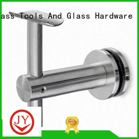 JY Customized aluminium handrail fittings China for Glass product