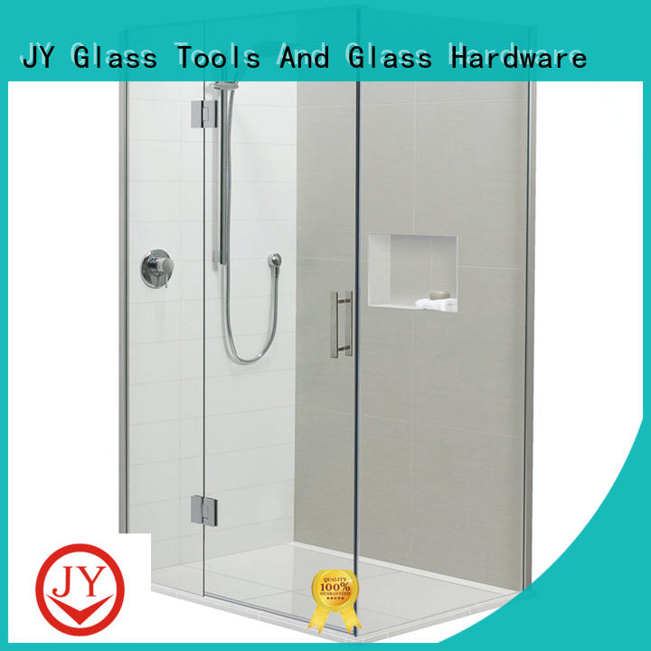 JY quality corner shower door kits the company for Glass product