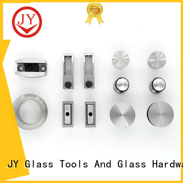 JY high-quality sliding door hardware kit factory for Glass products