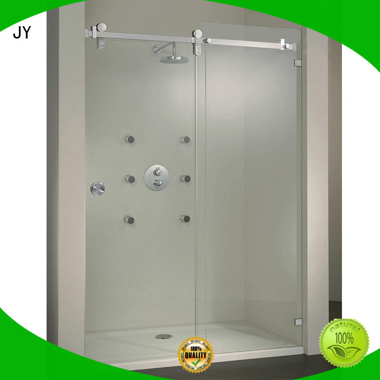 JY fine- quality commercial sliding door hardware China