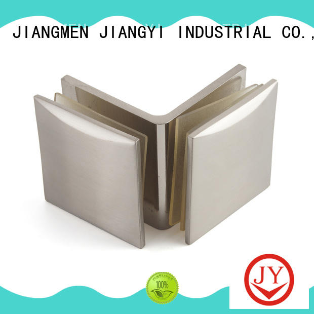 JY safe glass clamps and supports Exporter for Bath Screens