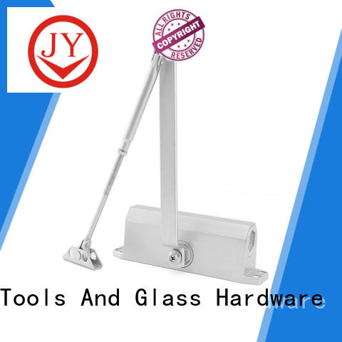 JY hydraulic door closer the company for Glass products