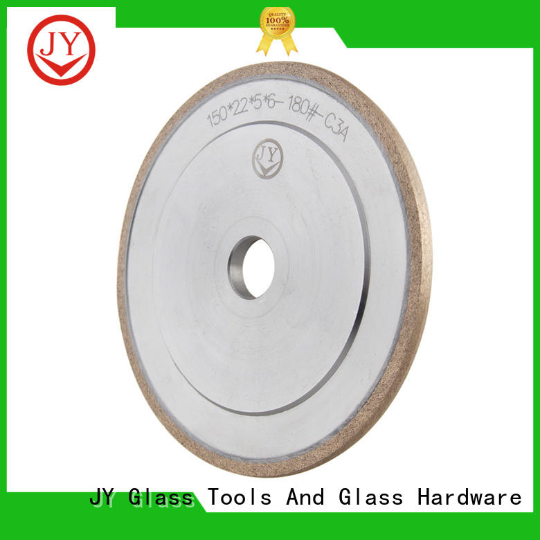 JY High-quality materials rubber grinding wheel wholesale for Glass product