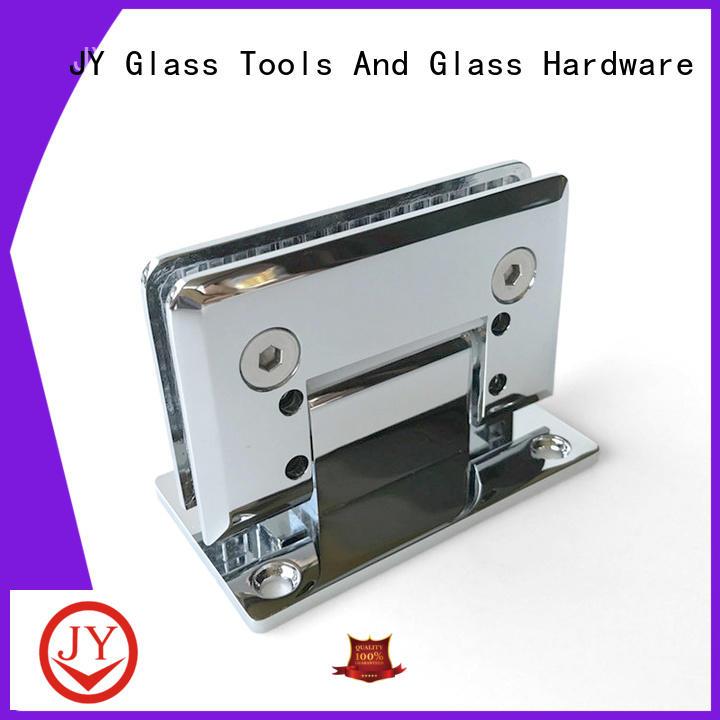 JY shower door hinges supplier for Glass Door
