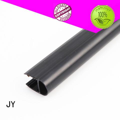 Polished Black U Shape Glass Shower Door Waterproof Sealing Strip