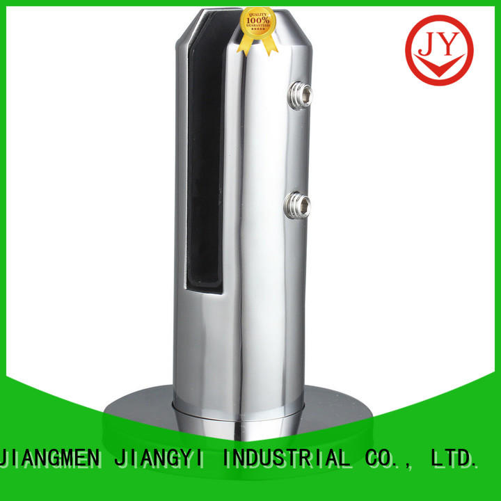 JY Latest pool glass clamp factory for Glass products