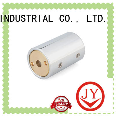 JY square tube connectors wholesale for glass