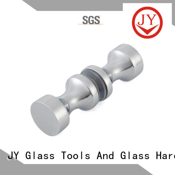 JY safe modern door knobs China for glass screen