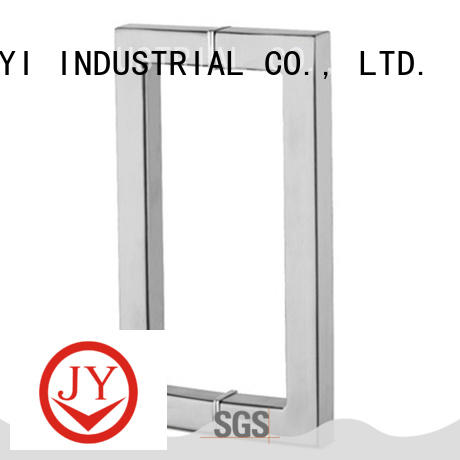 JY rust resistant double towel bar the company for Glass Door