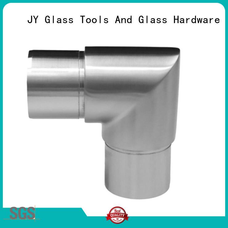 wall stainless steel handrail fittings elbow JY