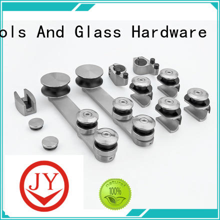 JY glass sliding door hardware supplier for Glass product