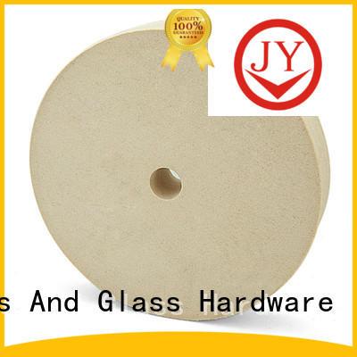 low cost wool felt polishing wheel owner for furniture glass JY