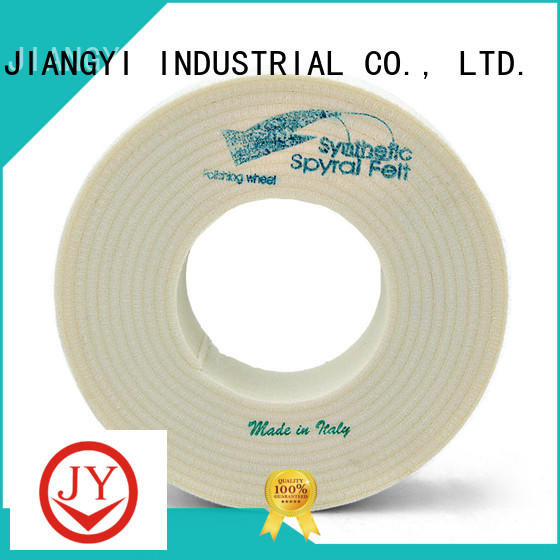 JY new-arrival wool polishing wheel supplier for decorate glass