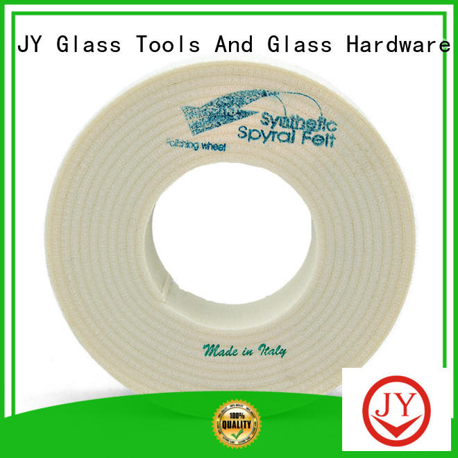 JY felt polishing wheel experts for furniture glass