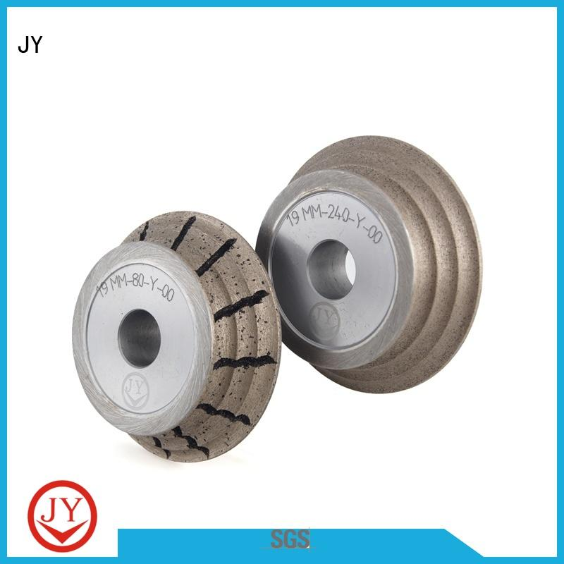 JY good quality angle grinder cutting wheel wholesale for Glass products