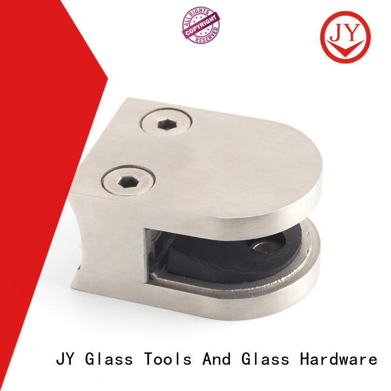 JY corner glass bracket for business for Shower Enclosures