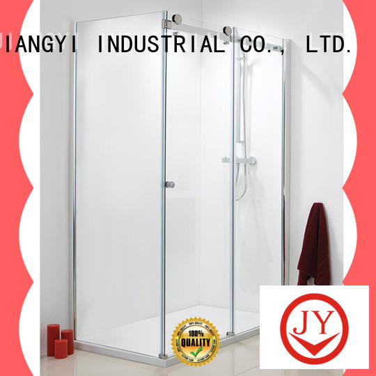 JY durable commercial sliding door hardware wholesale for glass