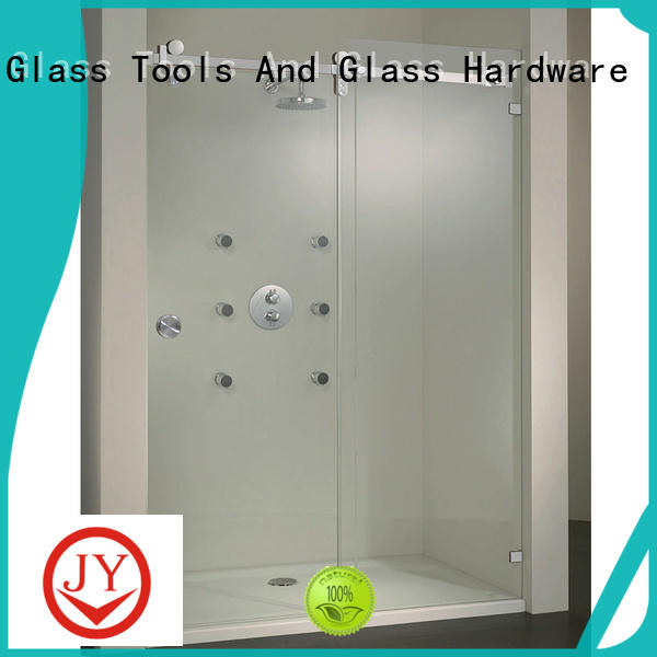 JY durable commercial sliding door hardware wholesale for Glass products