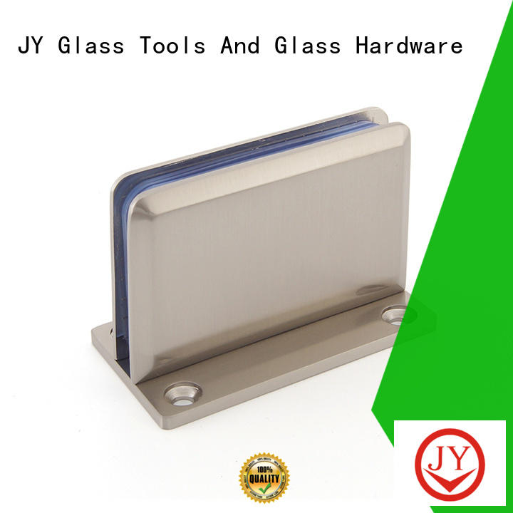 JY High-quality shower door glass hinges the company for glass