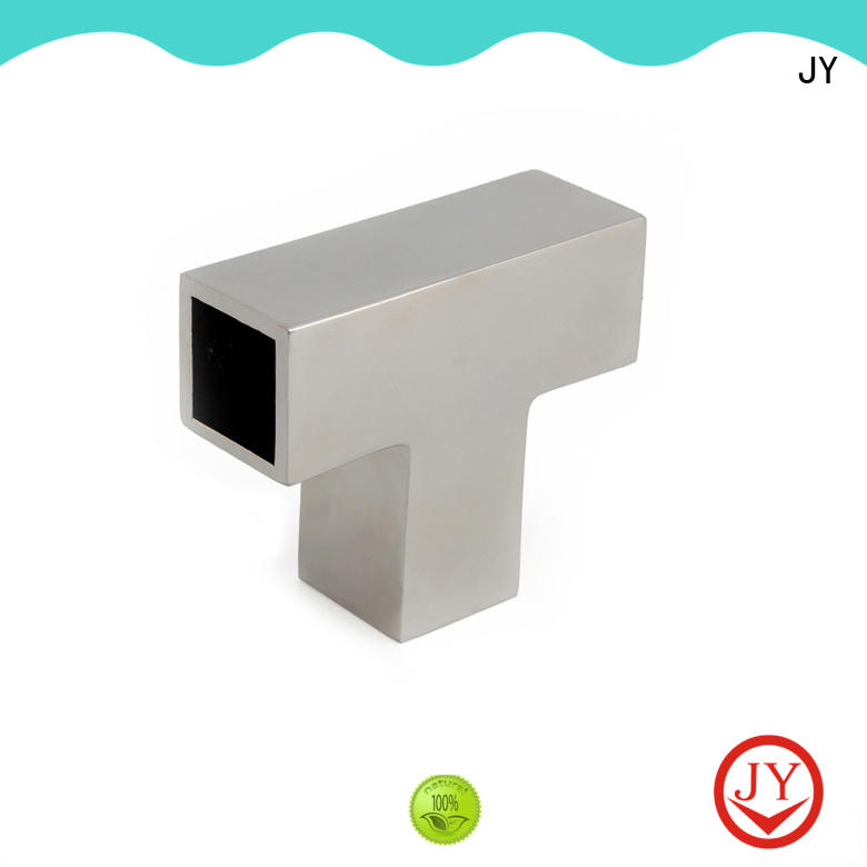 JY metal tube connectors factory for Glass products