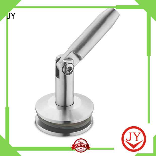 JY glass canopy fittings stainless steel supplier for Glass products