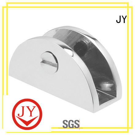 JY Wholesale stainless steel glass holder bracket the company for Bath Screens